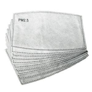 Karbonfilter til munnbind (10pk)